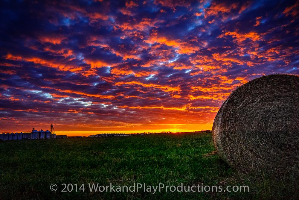 sunrise hay roll field.jpg