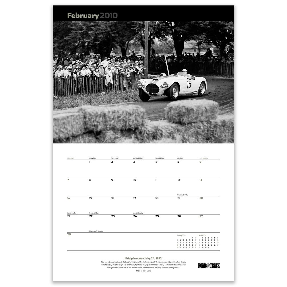 Vintage Calendar — Bert Swift
