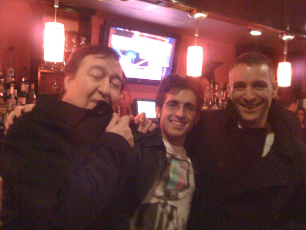 Dom Irrera and Keith Anthony