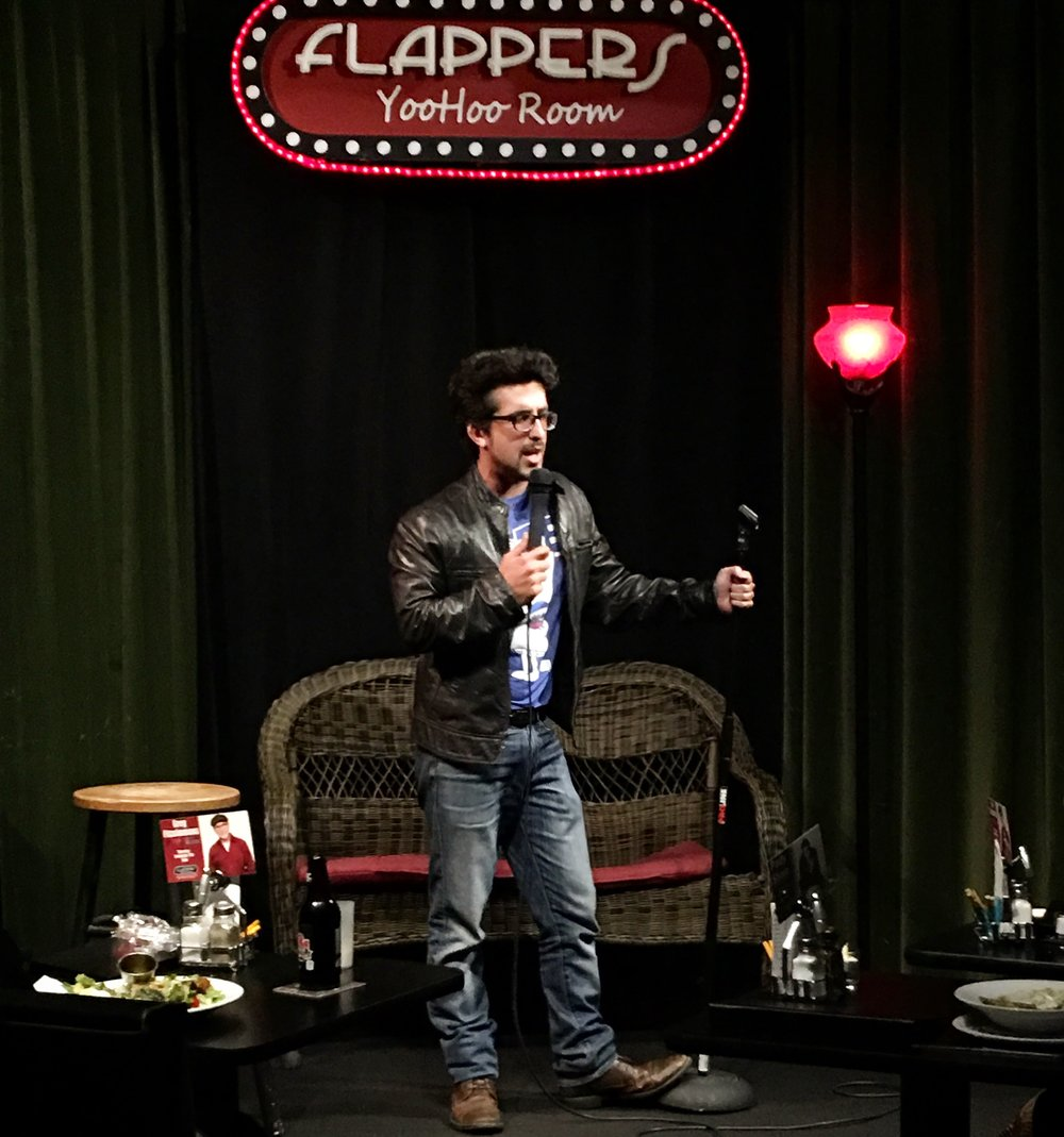 Flappers Comedy Club - Yoo Hoo Room