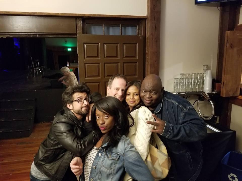 Katrina Braxton, Jason Pollack, Shari Franklin, and Coleman Green!