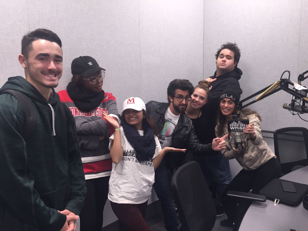 Good Times with the gang at Montclair's The Morning Buzz Radio!
