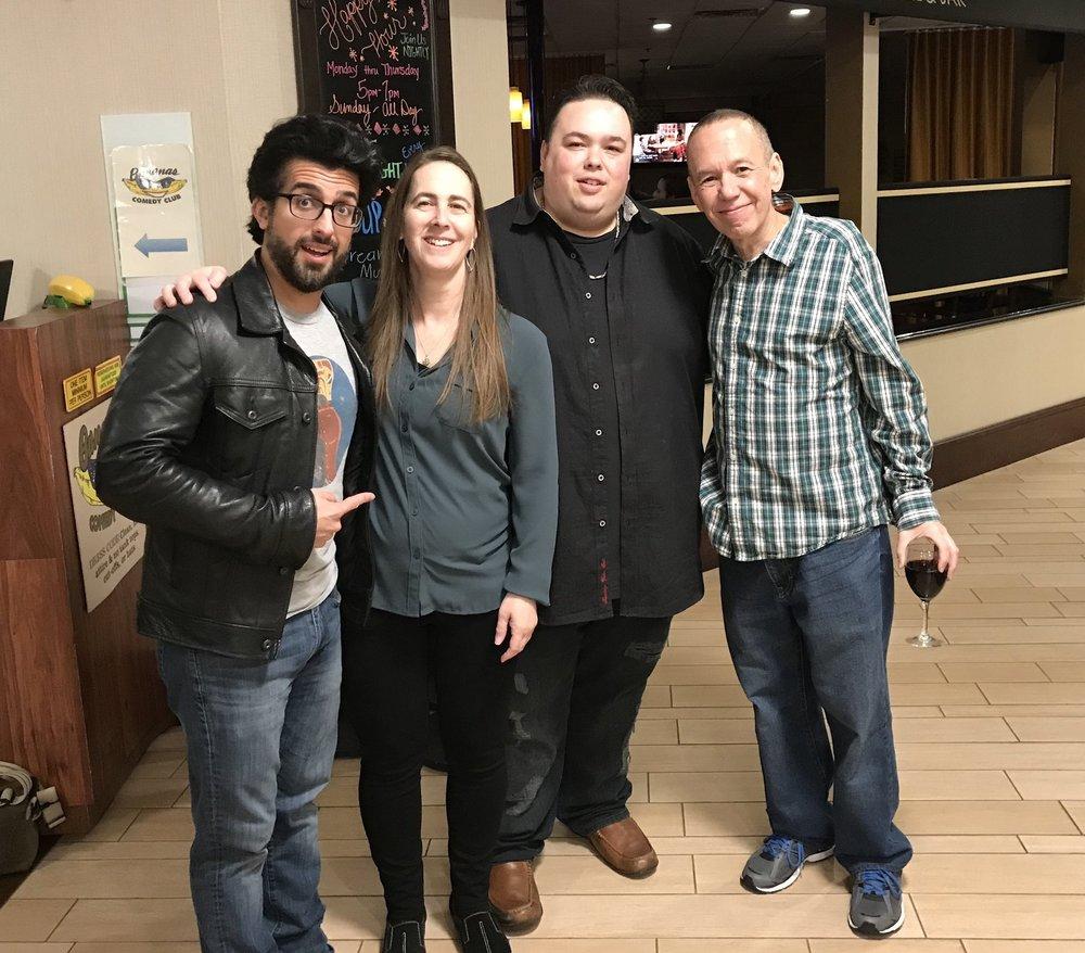 Denise Murphy, Mike Keegan, Gilbert Gottfried