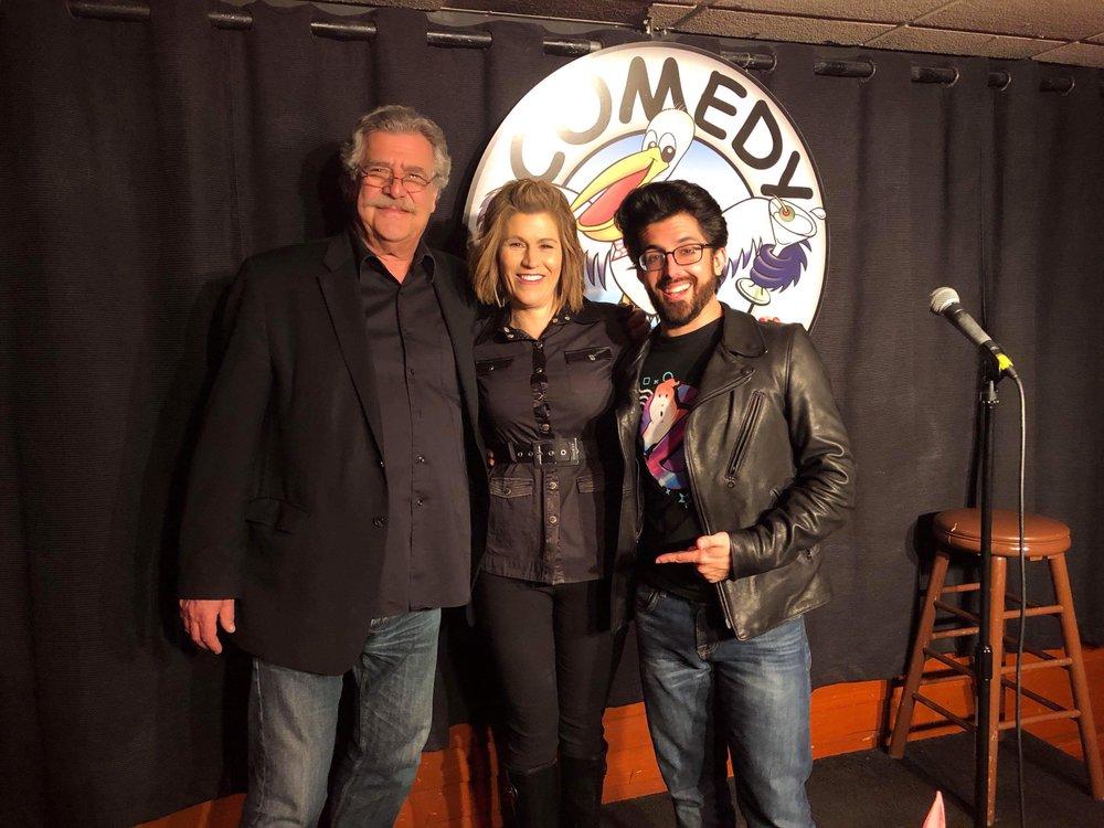Gene Nagel (Owner of Comedy Cove) & Kerri Louise!
