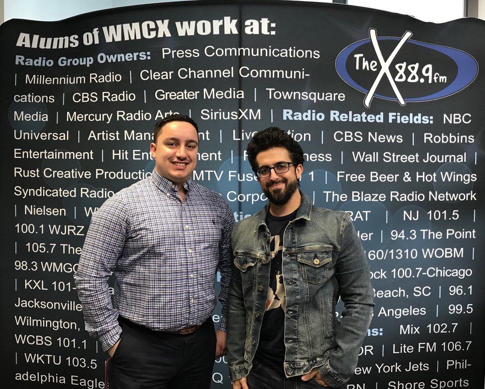 Randy Cabrera from Monmouth University's WMCX Radio