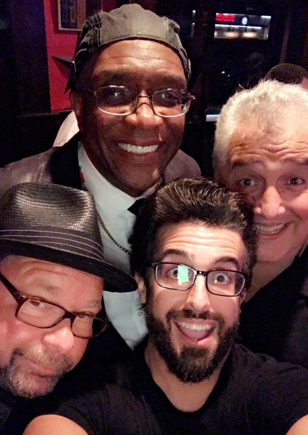 Joey Kola, Melvin George, Joe Starr!
