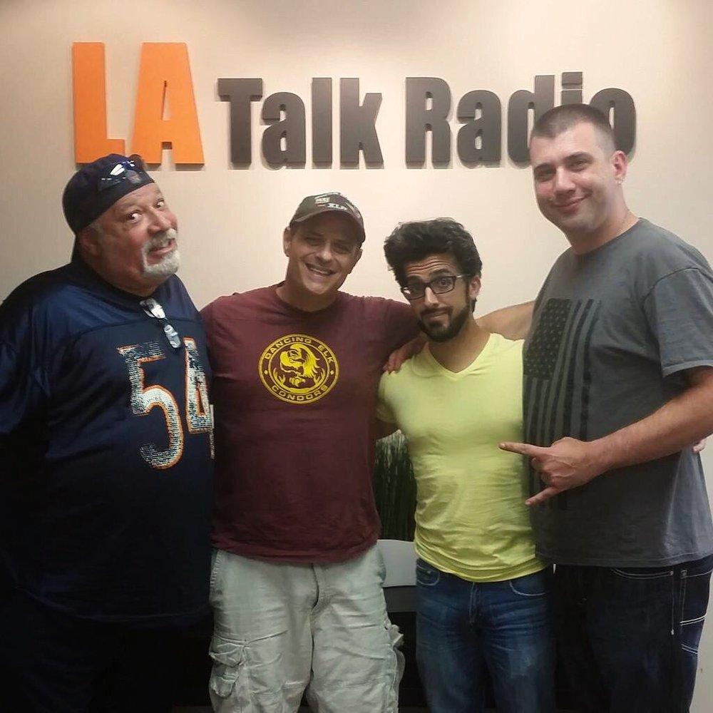 Richard Chassler and I on LA Talk Radio