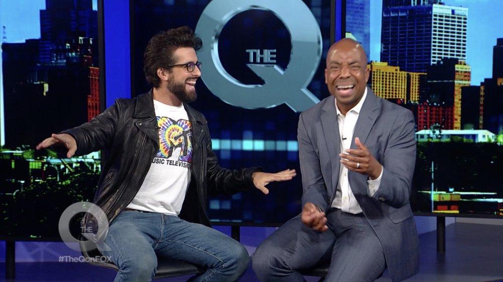 Quincy Harris of Fox's The Q!