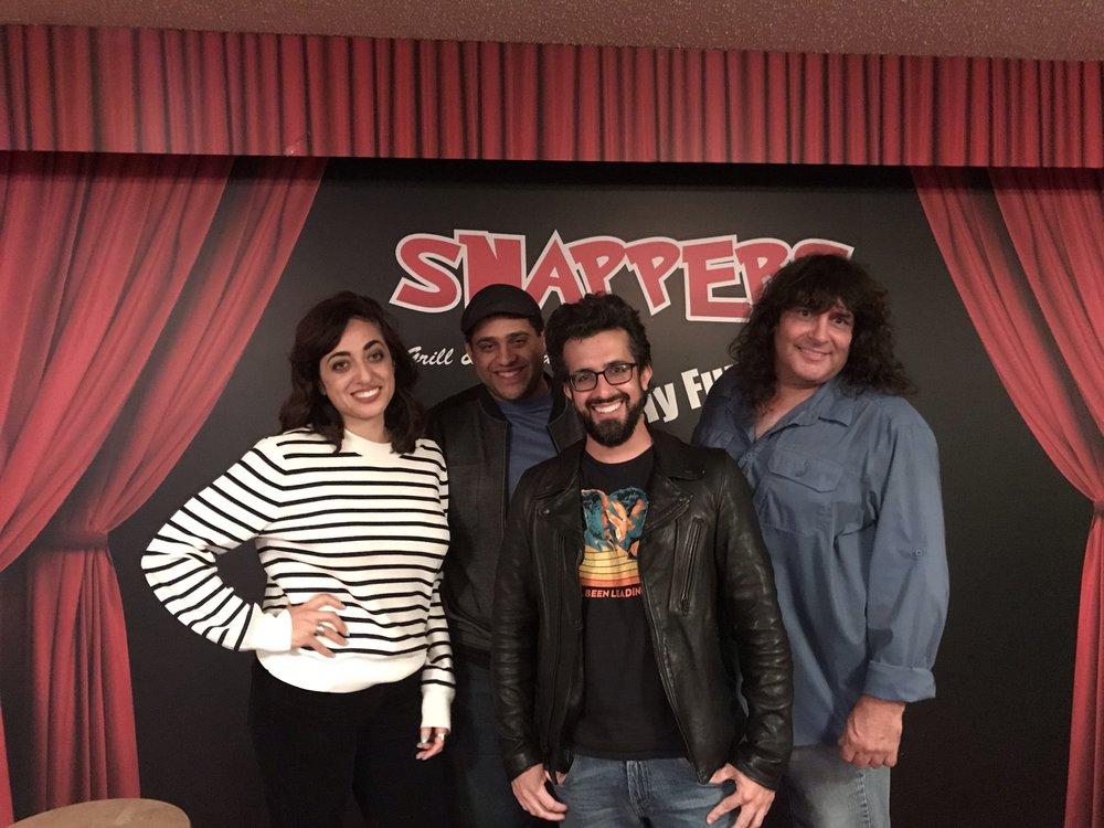 Natasha Samreny, Rafiq Sasheen, Steve Arik