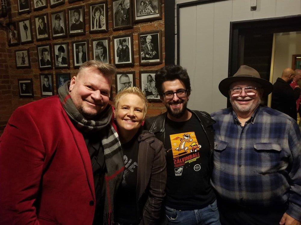 Michael Baker, Joanne Filan, Cal Westray