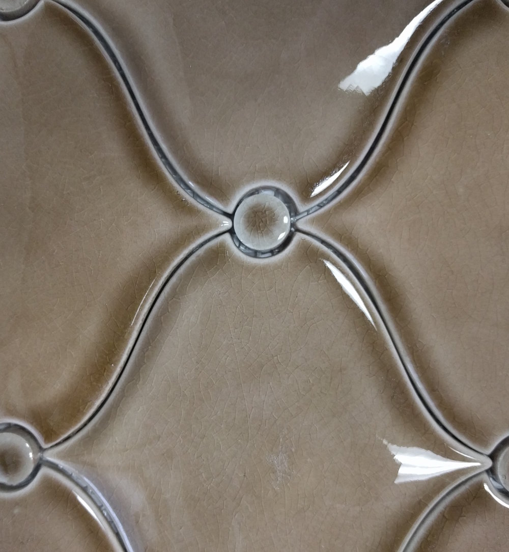 Vanity Wall Tile: Floor & Decor Villa Umber Tiger Eye Polished Porcelain Mosaic Size: 10 x 12 SKU:100472174
