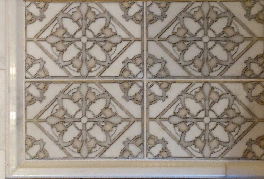 Finish 4 - Floral Tile