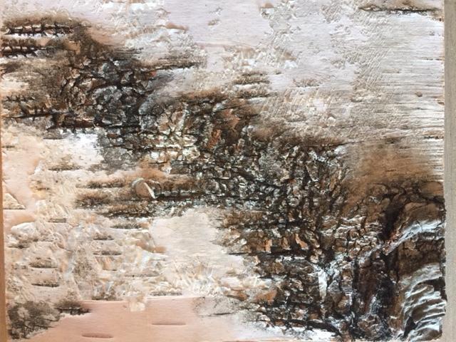 Birch Bark Finish -