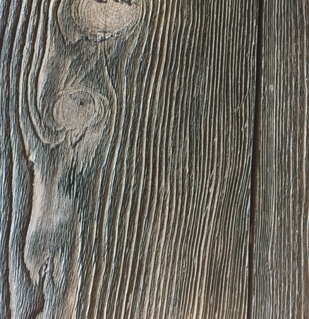 Inlay Accent - Faux Panels Oxford Barnwood Driftwood