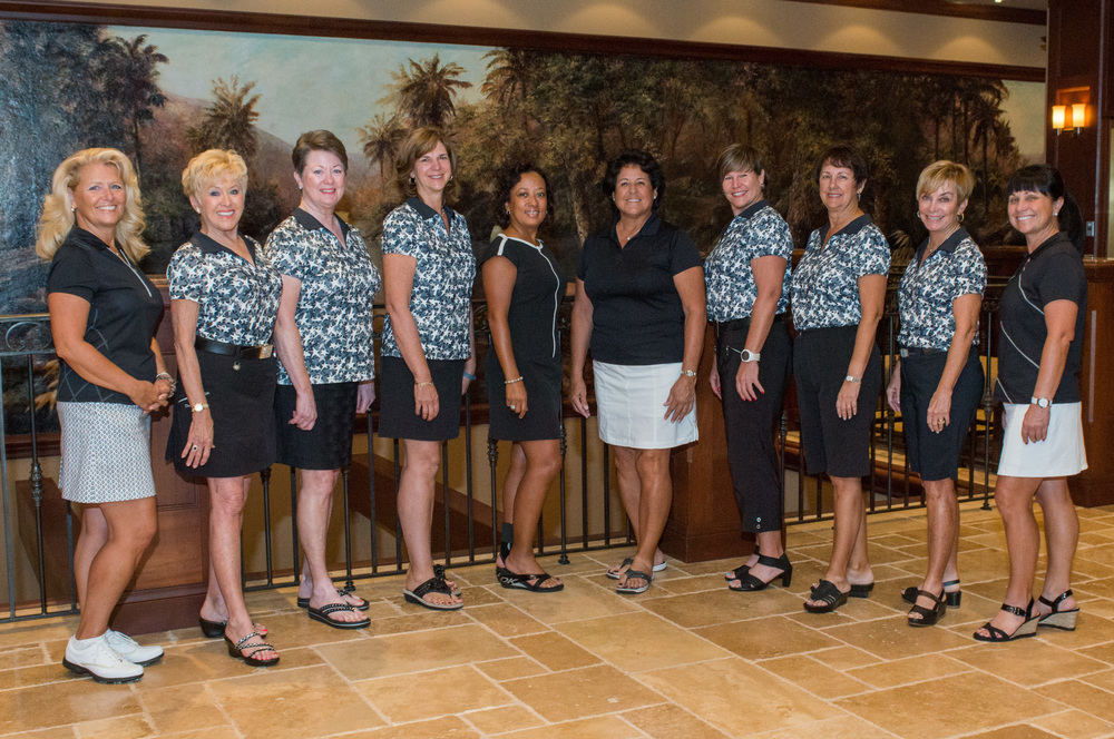 2014 Silent Auction winners w/Nancy Lopez
