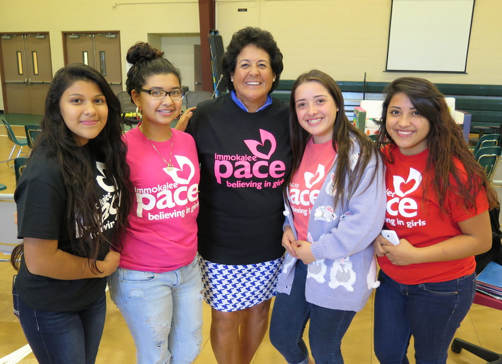PACE Girls w/Nancy Lopez