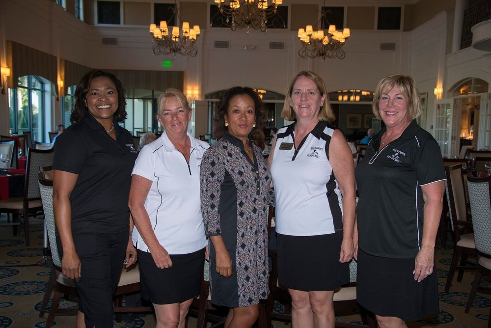 Pictured from left to right are Cotrenia Hood, Director, Kelly Cox, Treasurer, Diana Riley, Founder, Sandie Fleming, Secretary, and Cheryl Ollila, Vice President. Not pictured, Rose Harper Elder, Director.
