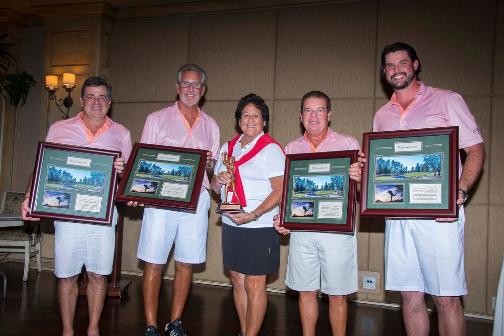 Winners for PR – Dan Riso, Gary Fredenberg, Nancy Lopez, Rick Speranza, Chas Henry