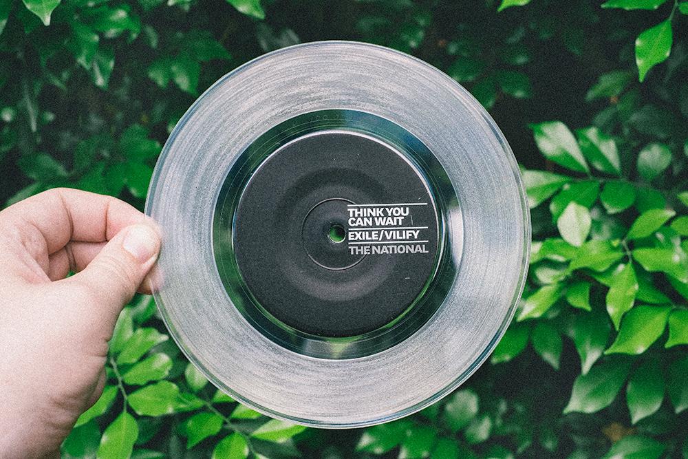 Clear vinyl is pretty rad.