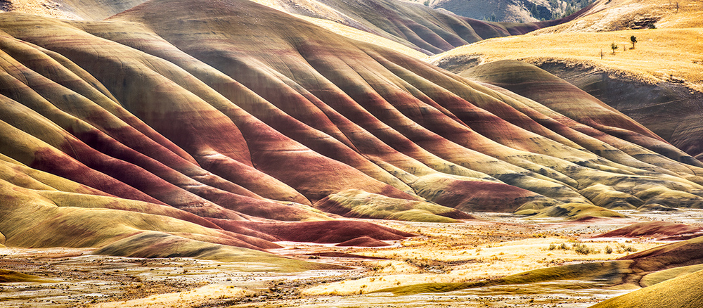 The Painted Hills, Central Oregon.