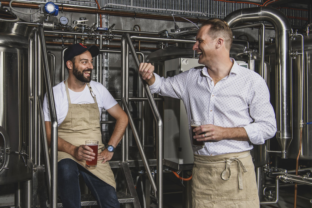 Bonehead Brewing founders, Anthony Dinoto & Travis Nott