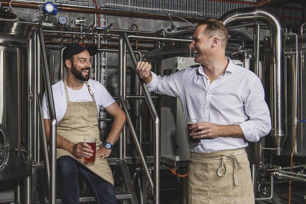 Bonehead Brewing founders, Anthony Dinoto & Travis Nott