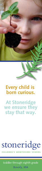 Stoneridge Children's Montessori School:     Web ad design for private Montessori K-8 school.