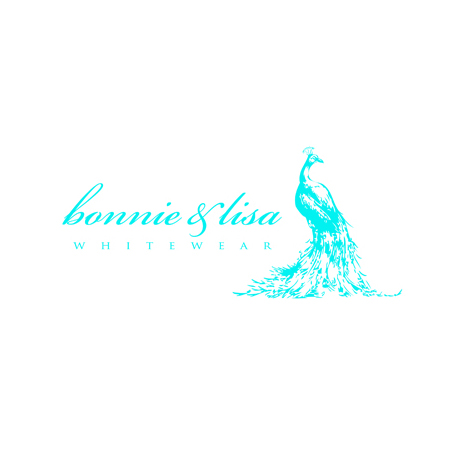 Bonnie & Lisa Whitewear:     Logo design for high-end boutique lingerie designer.