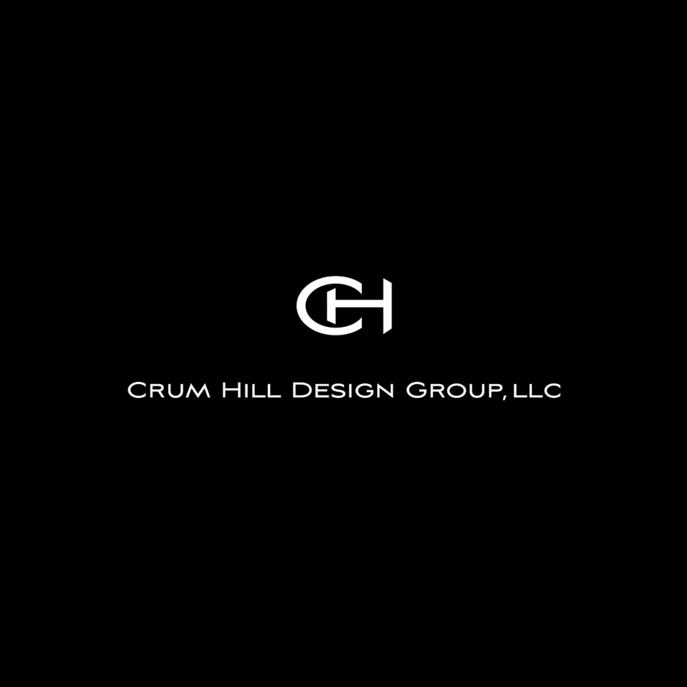 Crum Hill Design Group:     Logo design for upscale staging and interior design company.