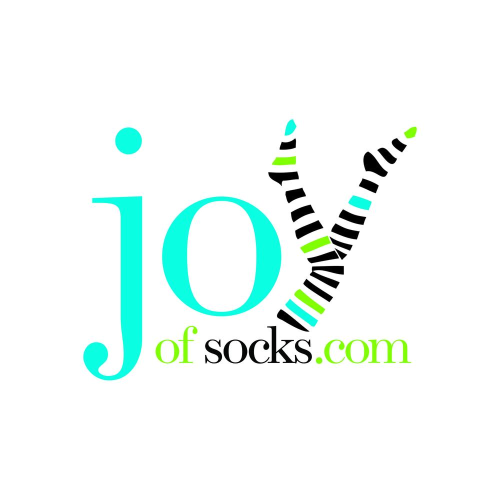 Joy of Socks:    Logo design for online retailer of socks and hosiery.