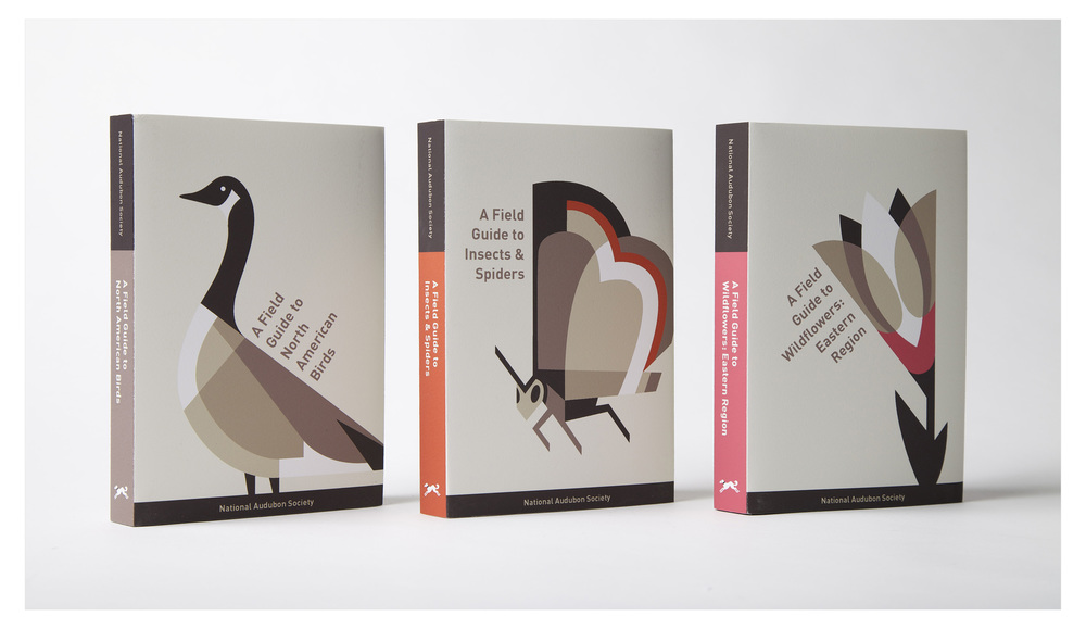 Re-imagined book covers for select National Audubon Society titles.