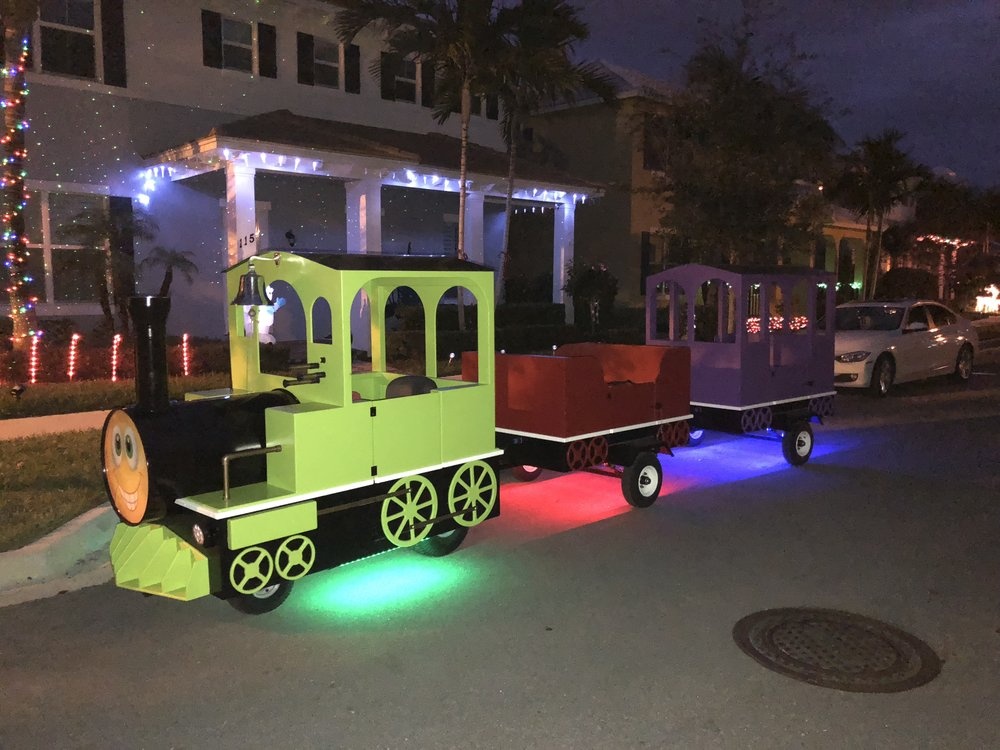 Trackless train rental in West Palm Beach