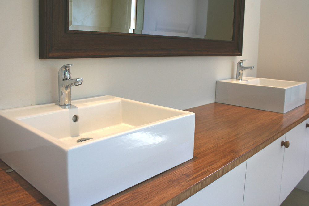 Strand Bamboo Countertop - Bathroom