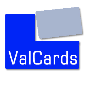 ValCards. Plastic Postcards. Gift Card Mailer. Plastic Postcard Printing. 