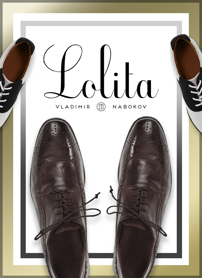 My cover redesign for  Lolita .