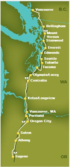Amtrac Route
