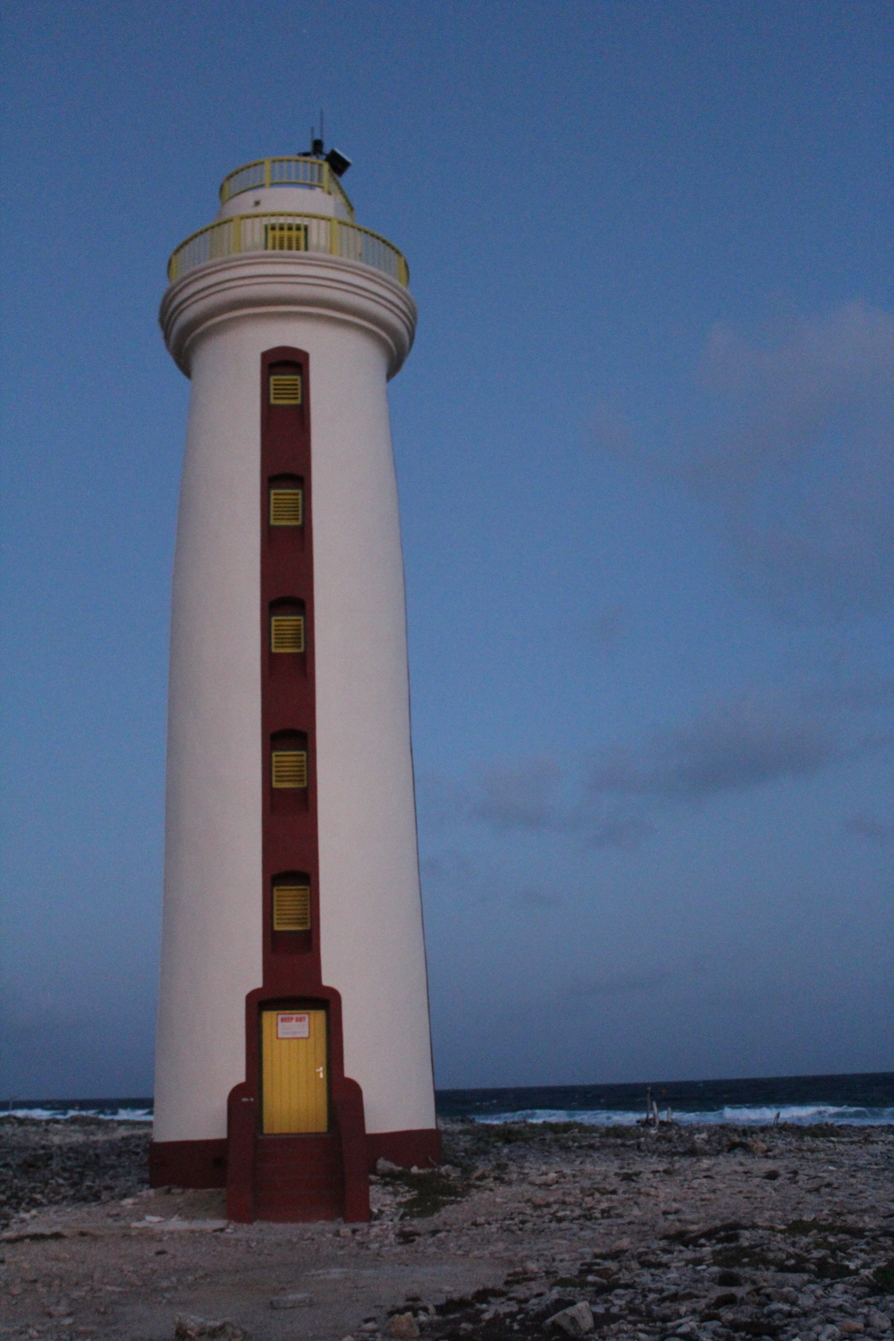 Lighthouse on the tip of Bonaire