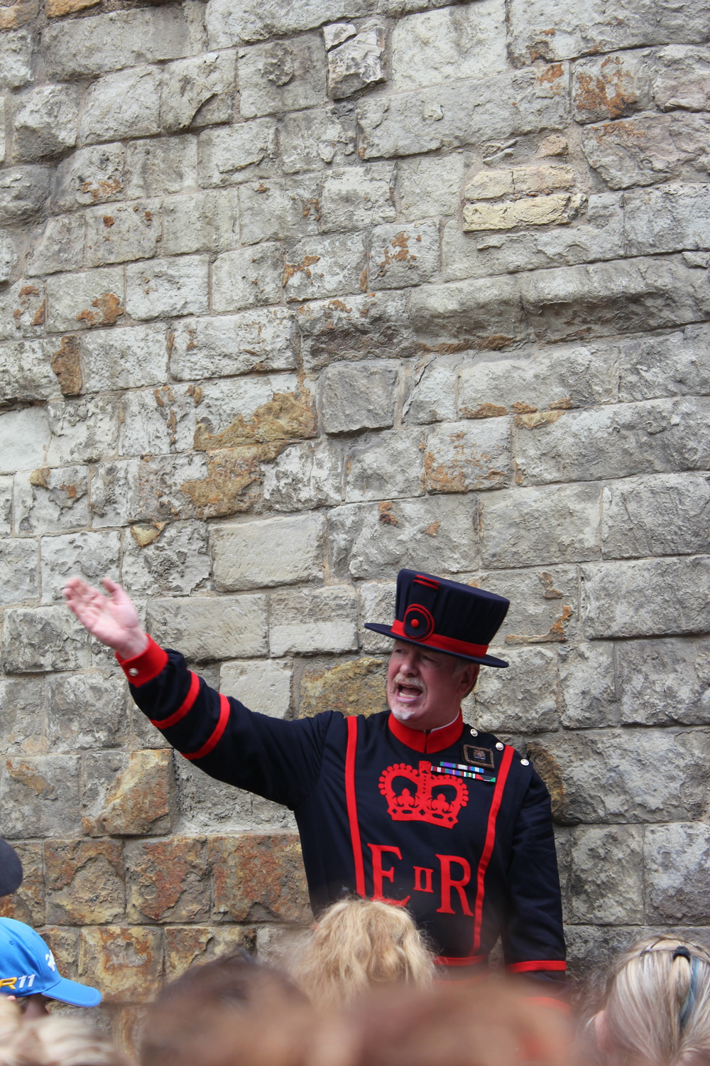 Our Yeoman Warder tour guide