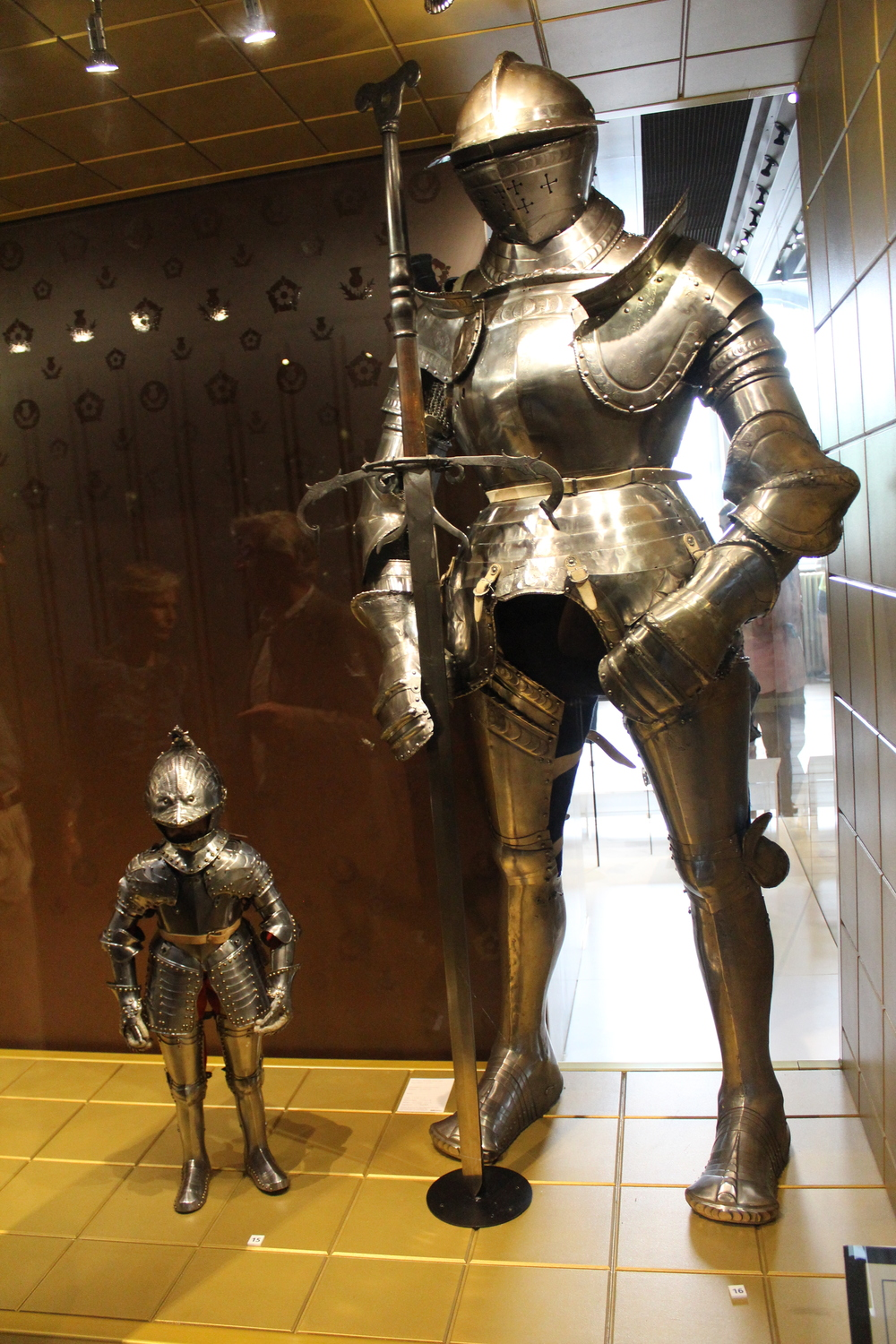 tiny and large armour