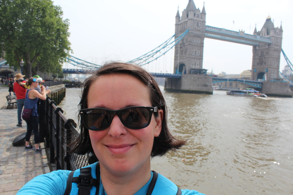 Always thought this was London Bridge, but its called the Tower Bridge