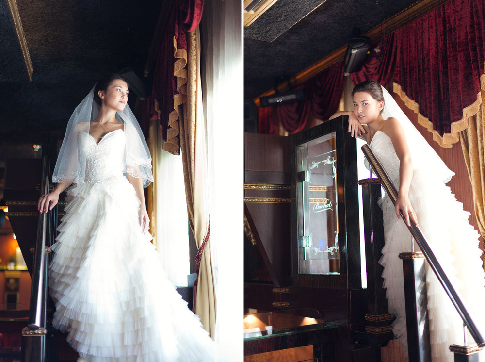 Свадебная фотография в Москве от московского свадебного фотографа Регины Аханкиной