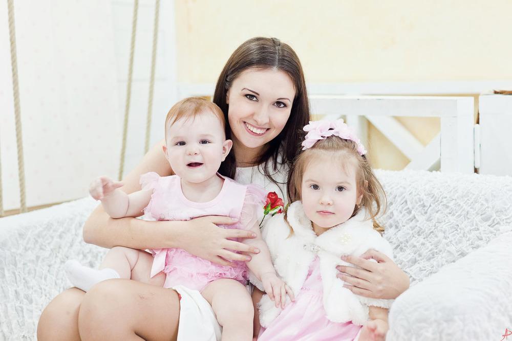 Семейная фотография в Москве от московского семейного фотографа Регины Аханкиной
