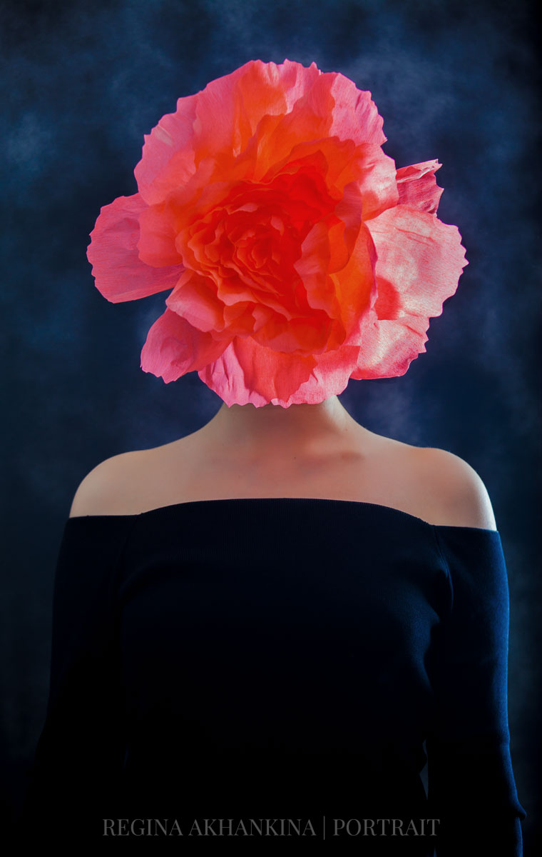 """Flower"" inspired by Magritte"