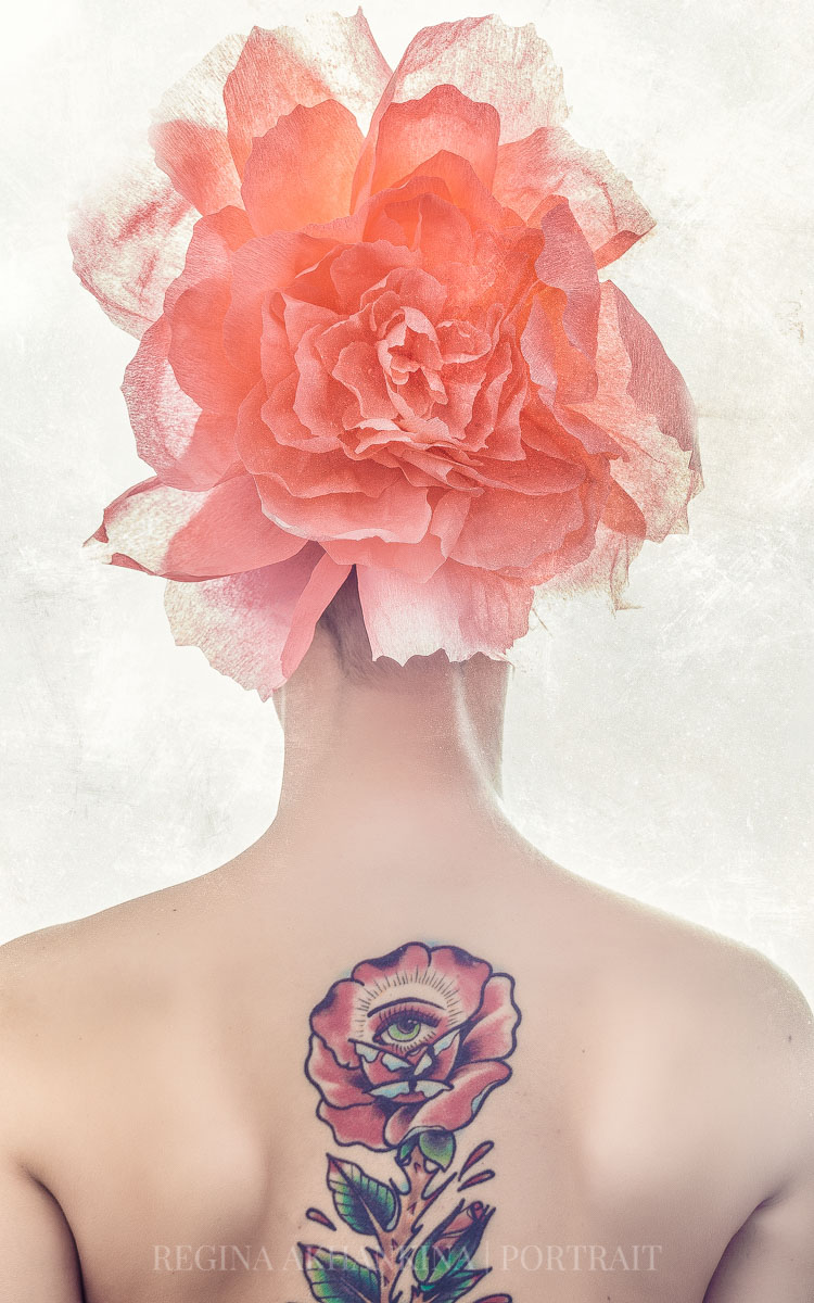 """Flower II"" inspired by Magritte"