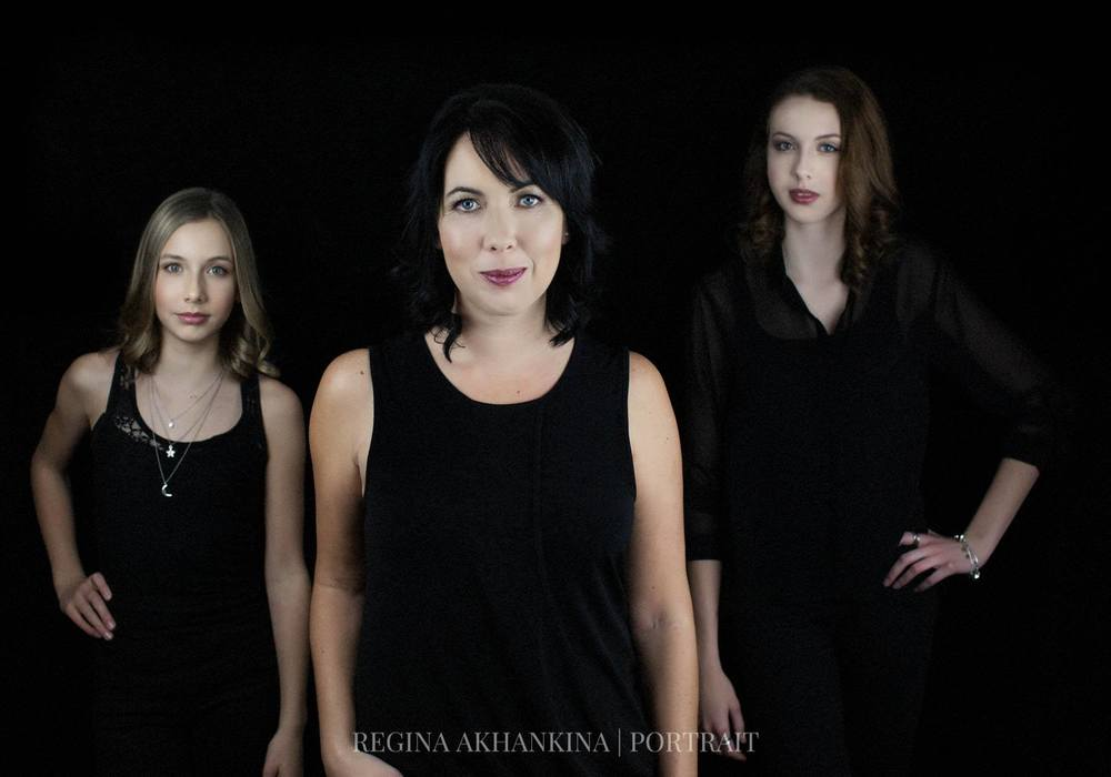 Fashion Family Portrait of Jaime Wiebe. Regina Akhankina, Morden, Manitoba, 2016.