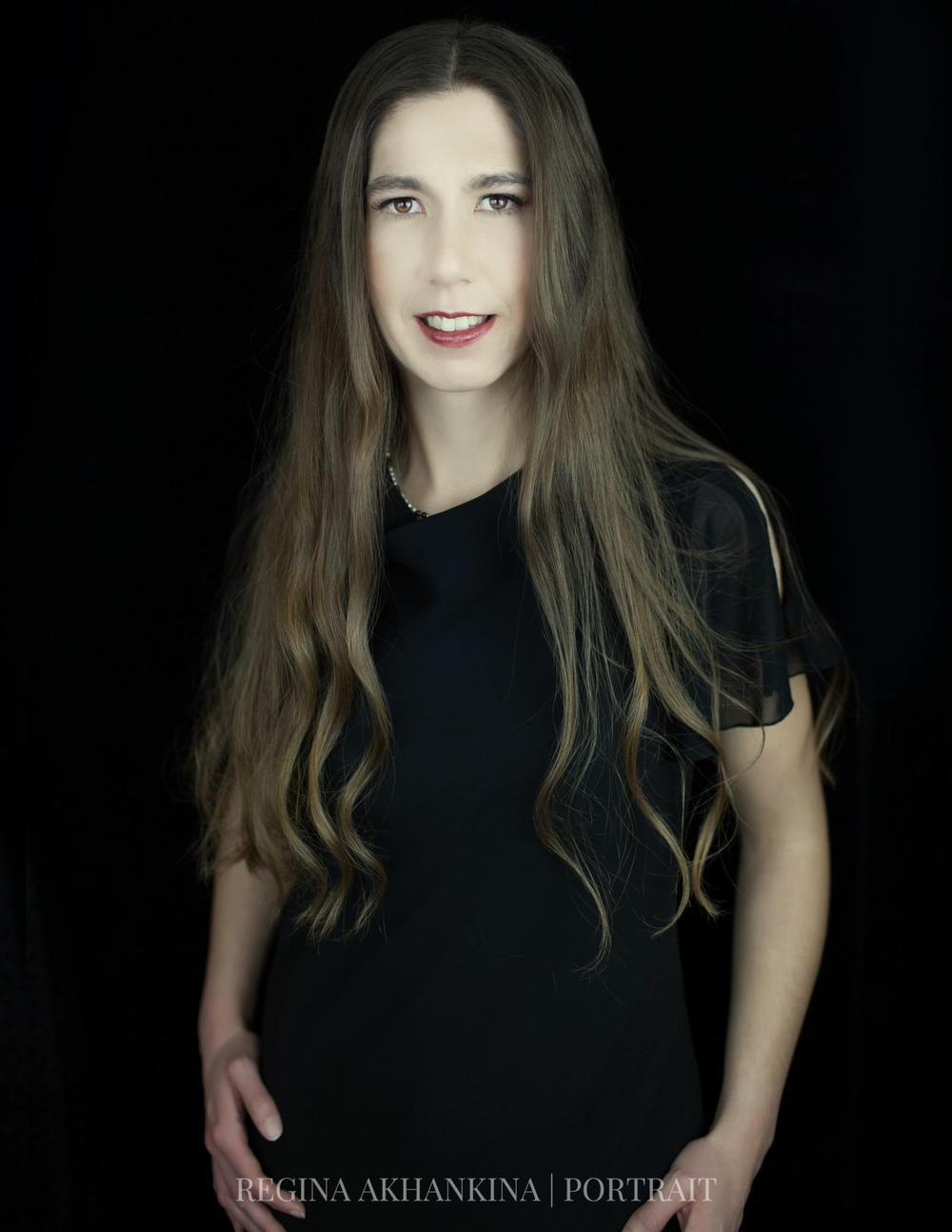 Portrait of Debbie Klassen. Regina Akhankina, Morden, Manitoba, 2015