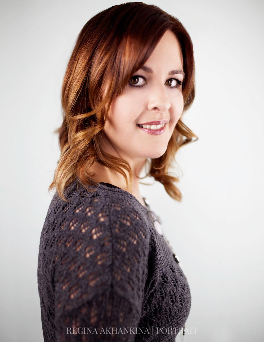 Portrait of Vanessa Timmerman. Regina Akhankina, Morden, Manitoba, 2015