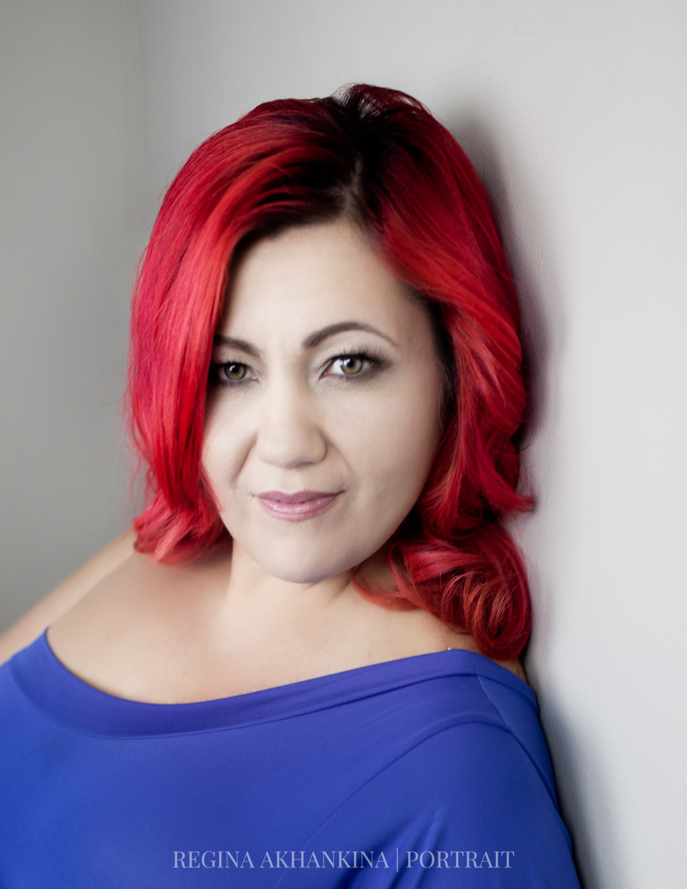 Portrait of Tina Bergen. Regina Akhankina, Morden, Manitoba, 2015