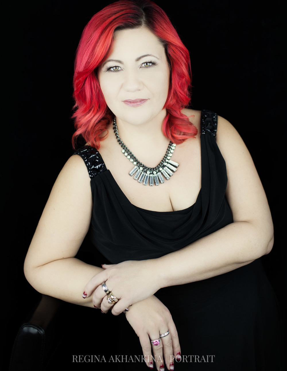 Portrait of Tina Bergen. Regina Akhankina, Morden, Manitoba