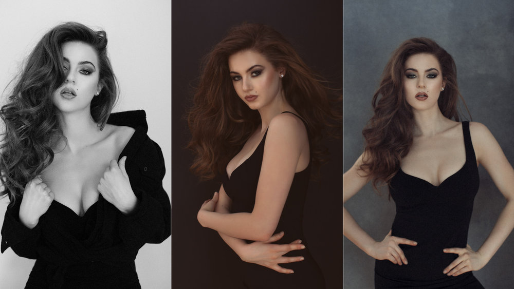 Award-winning model photo series